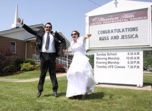 Russ and Jess Wedding, 2011